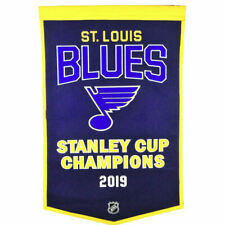 St. Louis Blues Wool NHL Dynasty Banner