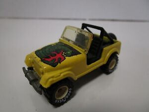 Vintage Hot Wheels Real Riders - JEEP CJ-7 (Yellow) (Case P)