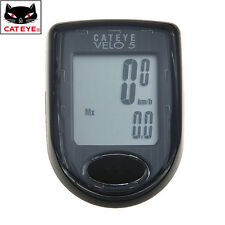 CATEYE Cycling CC-VL510 VELO5 Computer Speedo Odometer 5 Functions Black