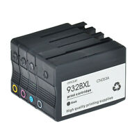 Black 932XL Color 933XL Ink for HP Officejet 6100 6600 6700 7100 7510 7610 7612