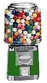 Single Barrel Candy Bulk Vending Machine - Green