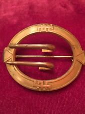 And Crafts Buckle Sash Brooch/pin Vintage Victorian Eif Co Arts