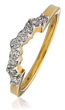 """Diamond to fit """"Boat"""" Cluster Ring 0.25ct Brilliant Cut F VS in 18ct Gold Ring"""