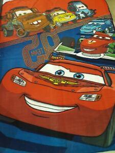 "Disney Cars  fleece throw blanket 46""×60""  Lightning"