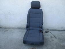 Rücksitz hinten rechts VW Touran Sitz Ausstattung Stoff ISOFIX dunkelgrau