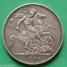1889 Queen Victoria Crown SNo28164