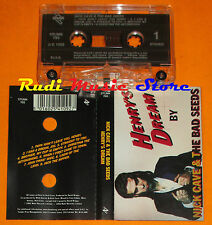 MC NICK CAVE AND THE BAD SEEDS Henry's dream 1992 italy STUMK 792 cd lp dvd vhs