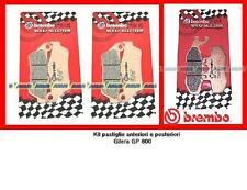 07001XS + 07056XS Sint Kit Pastiglie Freno Brembo Ant + Post Gilera GP 800