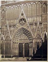 WWII Portal St Etienne Notre-Dame París Fotos Emmanuel Sougez 1941