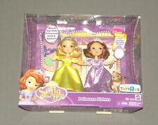 "Sofia the First Princess Sisters 5"" Sofia & Amber Doll Set 2 Pack Figure Mattel"