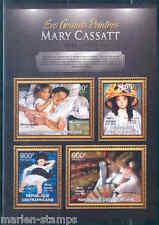 CENTRAL AFRICA 2012 MARY CASSATT  SHEET MINT NH