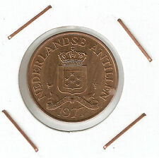 Netherlands Antilles: 2 1/2 Cents 1977 XF