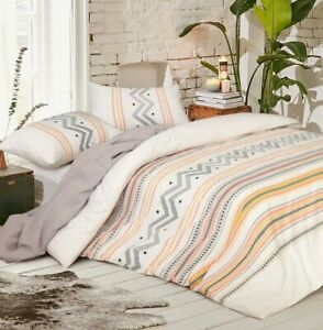 King size Duvet Doona Quilt Cover Set Cotton Single Double Queen King Super