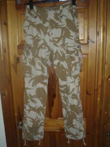 British Army issue,Trouser Lightweight Desert DPM,size leg,82 waist,84 seat 100,