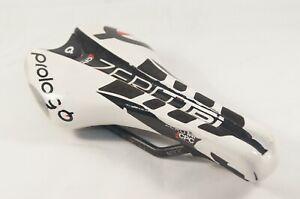 Prologo Zero Tri PAS CPC Nack White & Black Saddle Carbon Rails