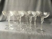 12 Tiffin-Franciscan Mirabelle Large Champagne Wine Glass