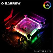 Barrow RGB Water Cooling CPU Block for Intel 115x Acrylic