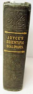 "MAGIC LANTERN - LIVRE COLLECTOR ""JOYCE'S Scientific Dialogues - LONDON - 1843"