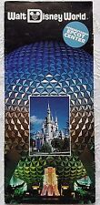VERY RARE 1983 WALT DISNEY WORLD RESORT BROCHURE IN PORTUGUESE EPCOT CENTER