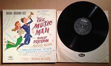 MUSIC MAN, THE-(GATEFOLD COVER)-ORIGINAL BROADWAY CAST-12 INCH 33RPM RECORD