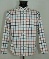 MENS HOLLISTER SHIRT LONG SLEEVE COTTON SIZE S-M EXCL
