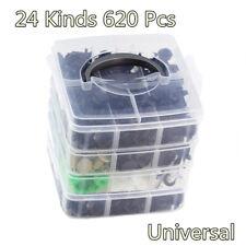 24 Kinds 4 Layers of 620PCS Fasteners Set car Bumper Clip Car Repair Parts Clip