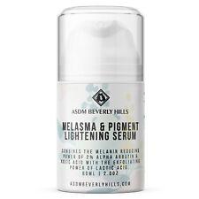 Face Whitening Bleaching Serum Melasma | 2% Alpha Arbutin Kojic Acid Lactic 2oz
