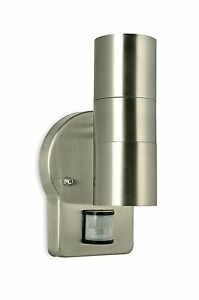 Nartel - Double Up Down Adjustable Wall Light with PIR - 80041