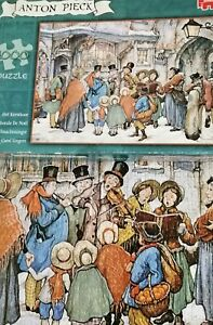 Jumbo jigsaw puzzle by Anton Pieck - The Carol Singers 1000 piece puzzle 🎶🎶