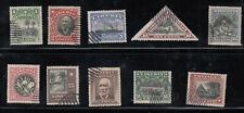Liberia # 115-24 Complete 1909-12 Set
