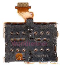 SIM Flex Lector Tarjeta Conector Card Reader Connector Slot HTC One M8 Dual