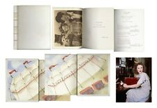 Shirley Temple Estate: Owned Leather Bound Movie Script
