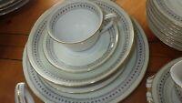Fine China Dinnerware Set By Holly China Laurel Narumi Occupied Japan 1945 76pcs