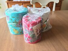 New THE PIONEER WOMAN Country Garden 3 PIECE CANISTER SET Cottage Floral