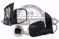 VW VOLKSWAGEN CADDY 2K 2/2005-7/2010 RIGHT SIDE DOOR MIRROR ELECTRIC BLACK