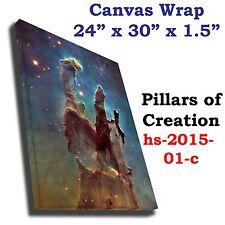 Pillars of Creation nebula Hubble JPL NASA space telescope canvas wrap art print