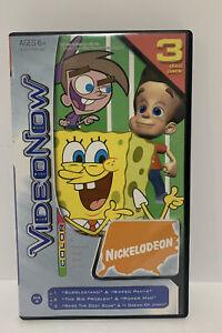 Nickelodeon Video Now Cartoon 3 Pack PVD Spongebob Jimmy Neutron & Oddparents