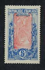 CKStamps: Middle Congo Stamps Collection Scott#22 Mint H OG Crease