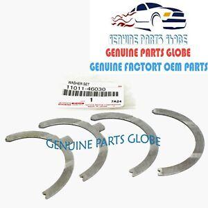 GENUINE TOYOTA LEXUS GS300 IS300 SUPRA CRANKSHAFT THRUST WASHER SET 11011-46030