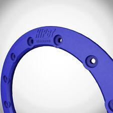 "Hiper Wheels CF1 Tech 3 Wheel Rim Replacement Beadlock Ring 10 Inch 10"" Blue"