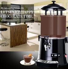 CE 10L Hot Chocolate Machine Electric Dispenser Bain Marie Mixer wine 220V/110V