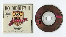 Vintage BO DIDDLEY II - 3-INCH cd-maxi 1988 MCA 4-tr ROAD RUNNER who do you love