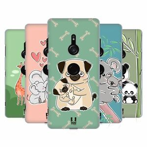 HEAD CASE DESIGNS ANIMAL WITH OFFSPRING BACK CASE & WALLPAPER FOR SONY PHONES 1