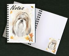 Shih Tzu Dog Notebook/Notepad + small image on every page by Starprint