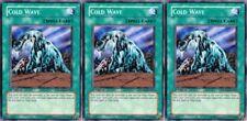 Cold Wave SDZW-EN019 X 3 1st Mint yugioh