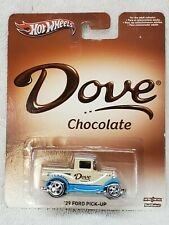 2013 HOT WHEELS DOVE chocolate 29 Ford pickup    REAL RIDERS candy truck mars