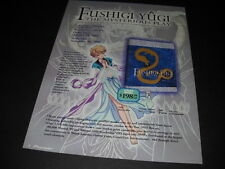 FUSHIGI YUGI The Mysterious Play Vintage ANIME Promo Ad mint condition