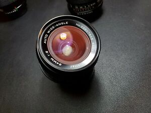 Vivitar 24mm f2 Lens | Minolta MD mount