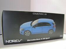Norev 183595 HQ Mercedes-Benz A-Klasse Sport 2012 - Blaumet. - 1:18