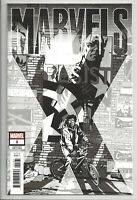 MARVELS X #1 B/W PARTY SKETCH VARIANT (1 PER STORE) Avengers Marvel 2020 NM- NM